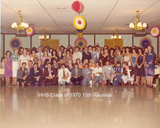 HHS Class of '70 - 10th Reunion